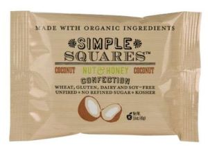 simple squares coconut bars
