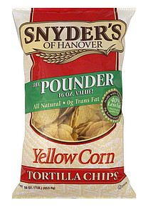snyder's of hanover tortilla chips