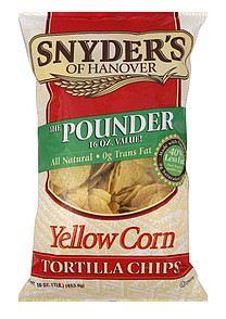 snyder's of hanover tortilla chips