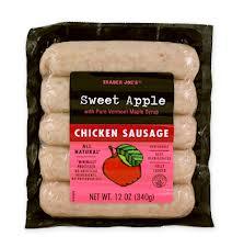 trader joe's chicken sausage