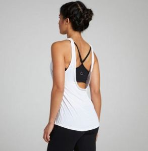 beyond yoga tank with bra