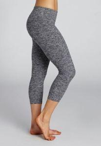 salt and pepper stretch leggings beyond yoga