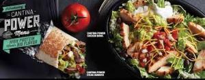 cantina power menu